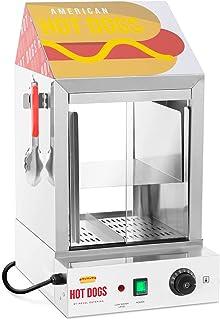 Royal Catering Cuiseur À Vapeur Pour Hot Dogs Machine Appareil Pro Professionnelle RCHW 1000H (100 saucisses + 25 pains, 1...
