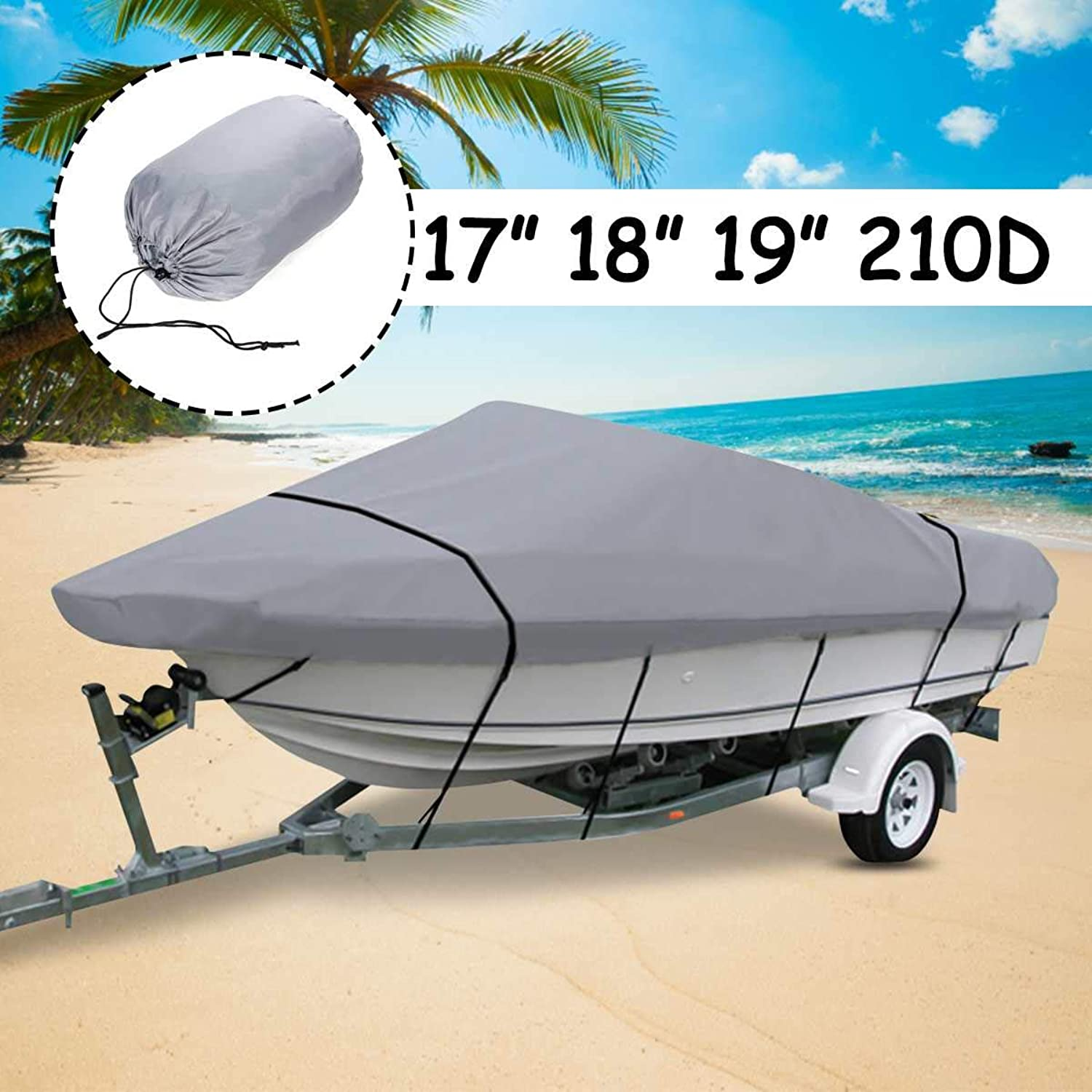 Sala-Store - 17 18 19 inch Boat Cover Cover Cover Beam-95 Heavy Duty