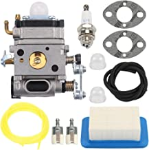 POEMQ Carburetor Air Filter Kit for Echo PB-500H PB-500T Backpack Blower Replace A021001642 A021001641 Walbro WLA-1 Carb with Gasket Spark Plug Primer Bulb