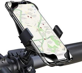 comprar comparacion LAYJOY Soporte Movil Bicicleta, Soporte Movil Bici, Bicicleta Montaña y Motocicleta, Silicona Ajustable 360° Rotación Telé...