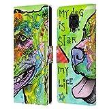 Head Case Designs sous Licence Officielle Dean Russo L'étoile de ma Vie Chiens 6 Coque en Cuir à...