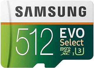 Samsung MB de me512ga/eu EVO Select microsdxc Tarjeta de Memoria con SD Adaptador 512.GB Class 10.