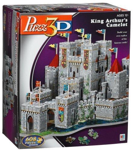 Puzz 3D Puzzle CAMELOT 620 pieces by Milton Bradley / Wrebbit