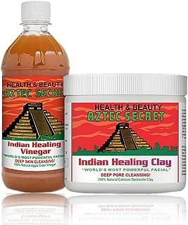 Aztec Secret - Indian Healing Clay With Apple Cider Vinegar For Unisex (454g+500ml)