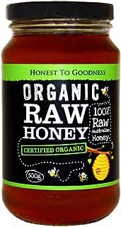 Honest to Goodness Organic Raw Honey - Australian, 500 Grams