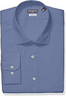 Van Heusen Men's TALL FIT Dress Shirts Flex Collar Solid...