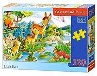 120 Piece Castorland Classic Jigsaw Little Deers