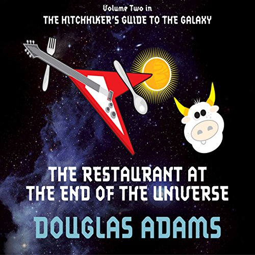 The Restaurant at the End of the Universe audiobook cover art