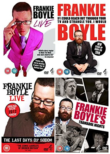 Frankie Boyle Collection Live / If I Could Reach Out Through Your TV / The Last Days of Sodom / Tramadol Nights + Lots of Extras