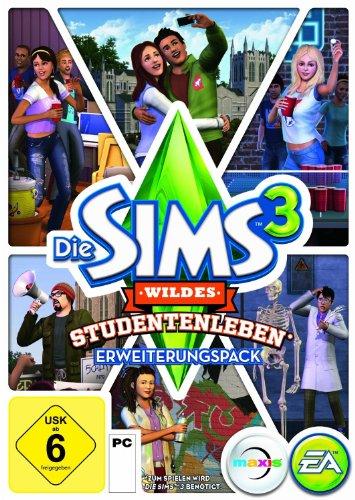 Die Sims 3: Wildes Studentenleben Erweiterungspack [PC/Mac Online Code]