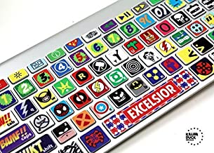 superhero keyboard skin