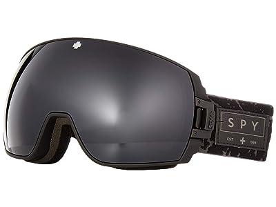 Spy Optic Legacy SE (Onyx/Gray Green/Black/Persimmon/Silver Spectra Mirror) Goggles
