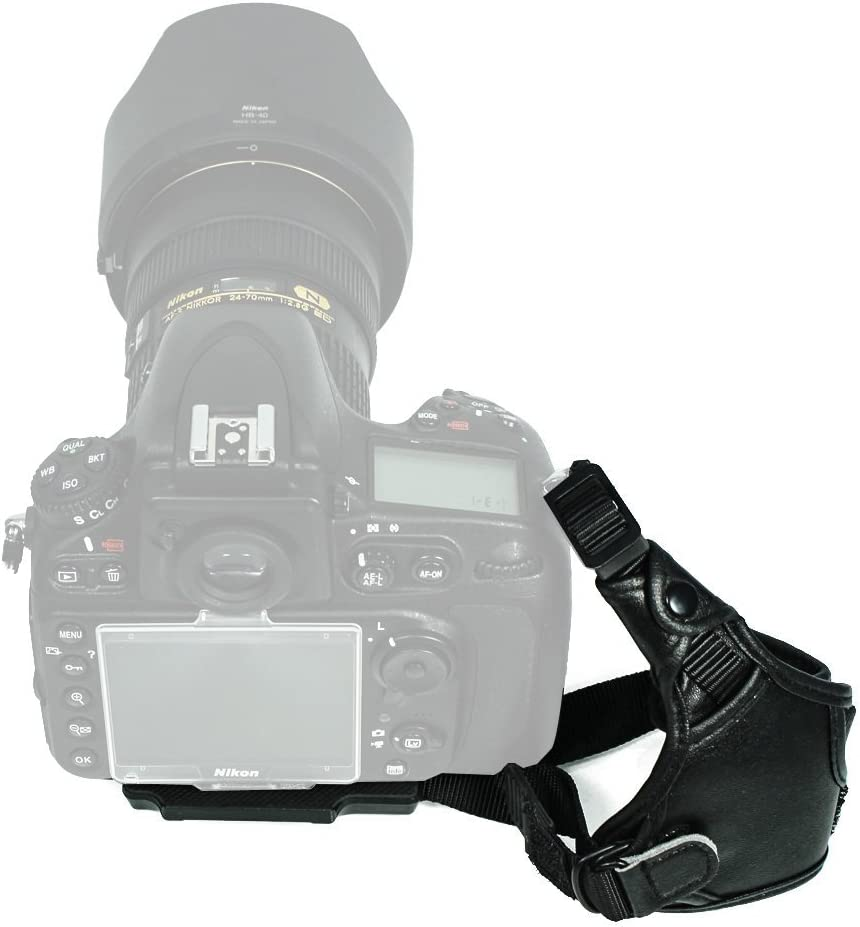 FotoTech Manufacturer regenerated product Professional Leather Hand Strap Compatible High material Grip Wrist