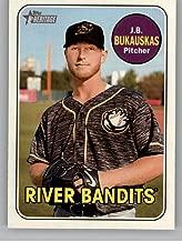 2018 Topps Heritage Minors #27 J.B. Bukauskas Quad Cities River Bandits Official Minor League Baseball Trading Card
