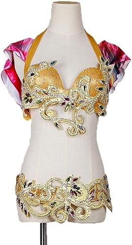 CX Danse du Ventre Vêtements De Survêtement Femme Adulte Bra Costume De Danse Orientale Costume Deux Pièces
