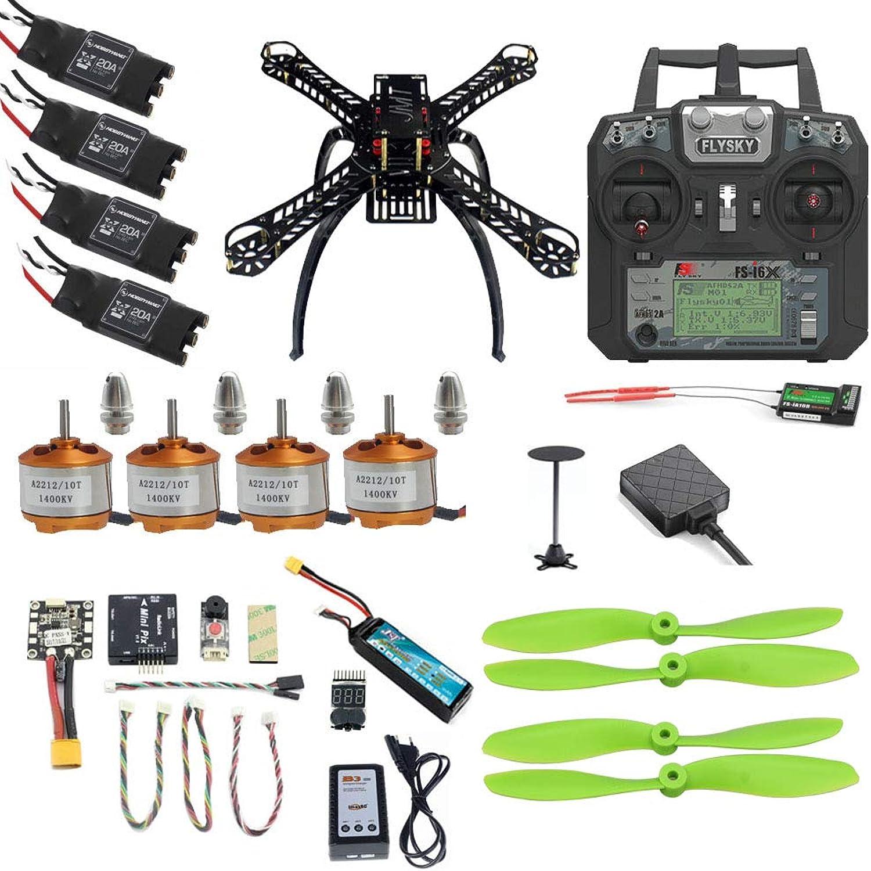 Generic Pro DIY Mini 310 330 360 Full Kit FPV Drone 2.4G 10CH RC 4Axis Quadcopter Radiolink Mini PIX M8N GPS PIXHAWK Altitude Hold Mode 310 GlassFiber Set