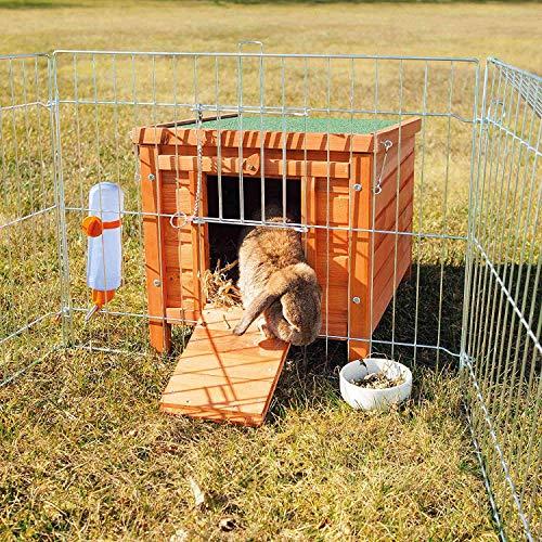 Trixie 62391 natura Kleintierhaus, Kaninchen, 42 × 43 × 51 cm - 2