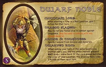 Eagle-Gryphon Games Defenders of The Realm: The Noble Dwarf Card