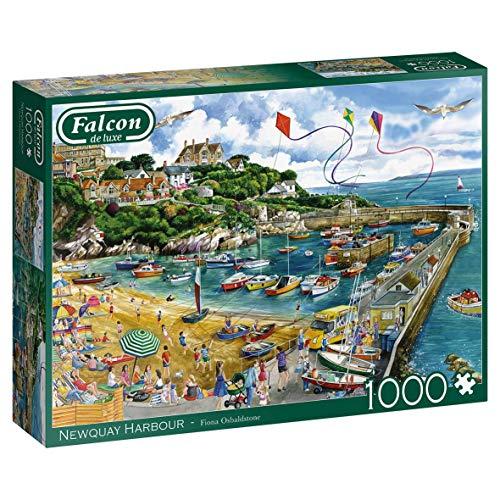 Jumbo- Falcon de Luxe-Newquay Harbour 1000 Piece Jigsaw Puzzle Piezas (11290)