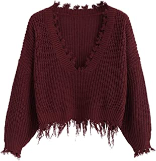 Best sweater with fringe on bottom Reviews