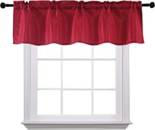 Curtain Valances for Windows Spill-Proof Waterproof...