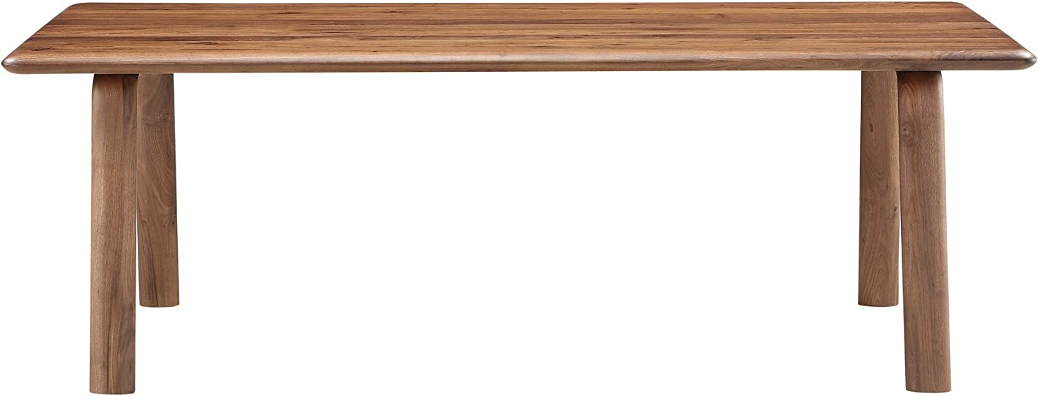 Moe's Price reduction Home Collection Malibu Large-scale sale Walnut Table Dining