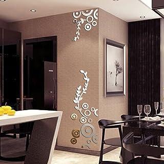 comprar comparacion JiaMeng Pegatina de Pared, Elegante Hoja desprendible 3D Love Etiqueta de la Pared calcomanías de Vinilo de Arte decoració...
