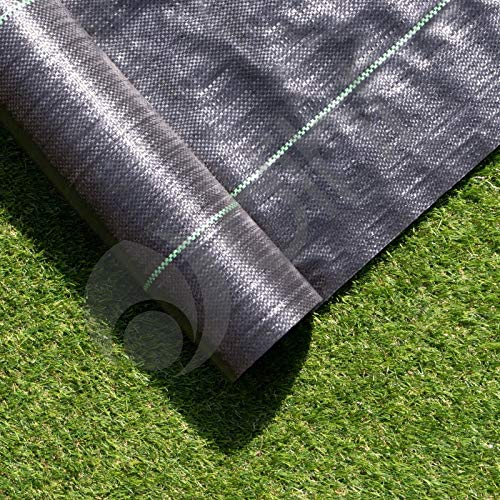 1m X 10m Ground Cover Fabric Landscape Garden Weed Control Membrane Heavy...