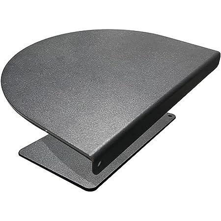 モニターアーム固定用クランプ補強プレート 滑り止めシート付き ブラック CPY-LP1 (ブラック-2)