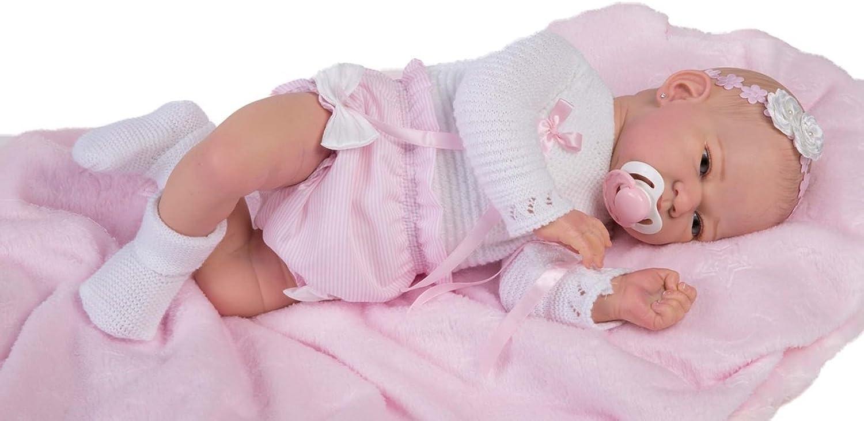 Rauder Puppen–Puppe Bebe, Mehrfarbig (5205)