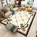 Oficina de alfombras Dormitorio China Alfombra Beige Rectangular Soft Can Machine comodas Dormitorio Matrimonio Sala de Estudio Decorada 200X300CM 6ft 6.7' X9ft 10.1'