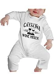 Fuckin Catalina Wine Mixer Newborn Babys Boys /& Girls Short Sleeve Baby Climbing Clothes for 0-24 Months Black