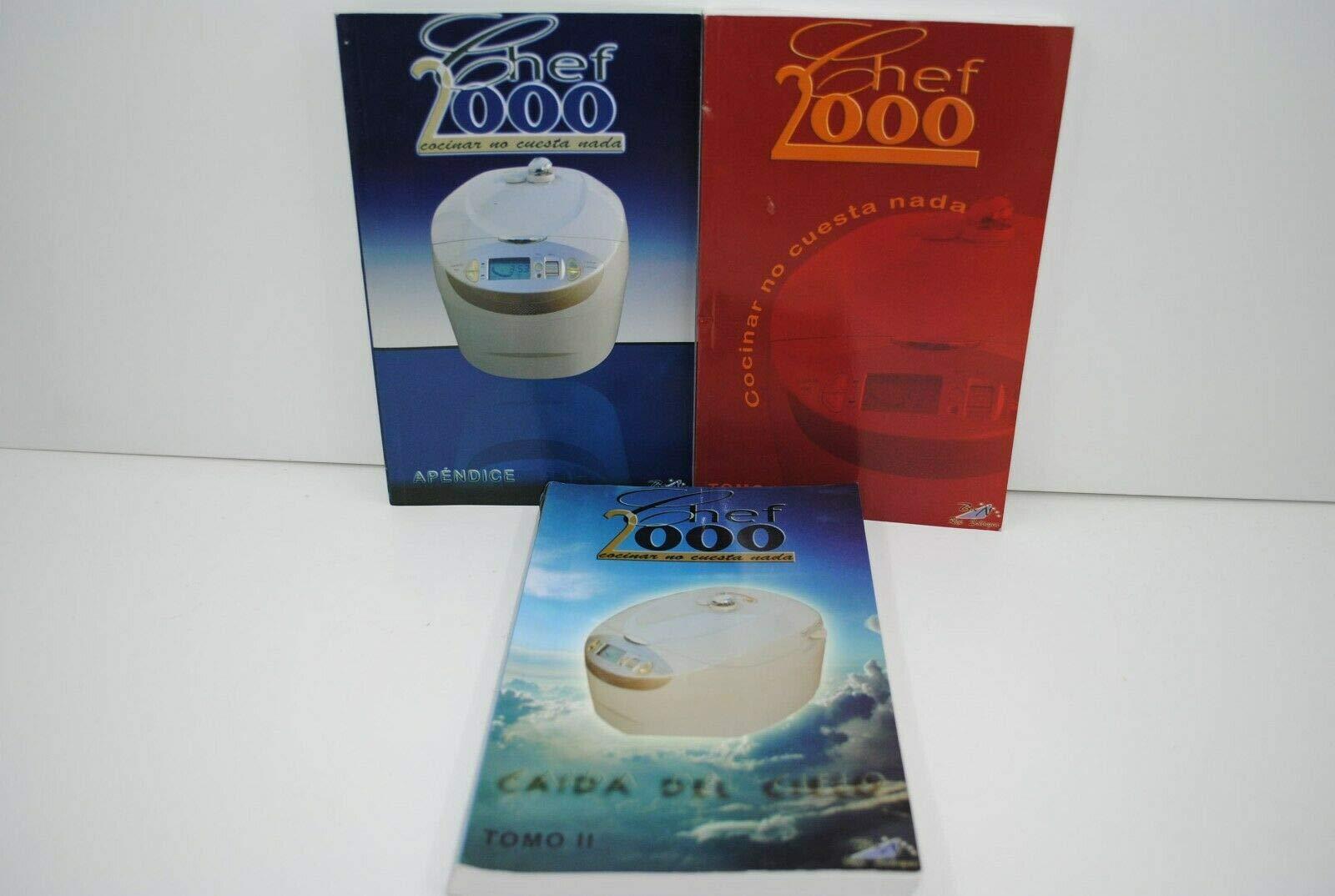 T-MIX Tres RECETARIOS Robot DE Cocina Chef 2000: Amazon.es: Hogar