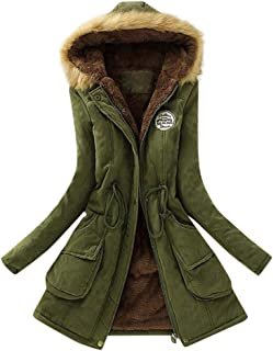 Gillberry Women's Jacket Women's Jacket Warm Long Slim Winter Outwear Tops for
