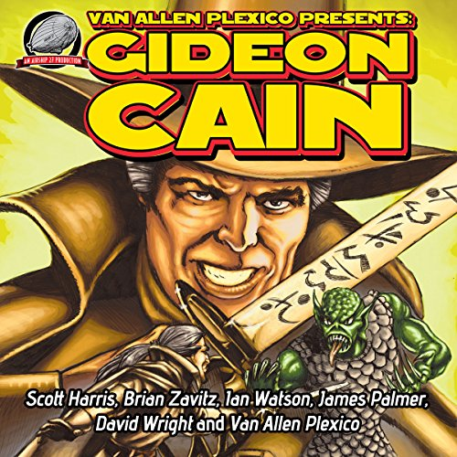 Gideon Cain audiobook cover art