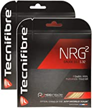 Tecnifibre 2 Packs NRG2 with SPL Tennis String - Natural - Choice of Gauge