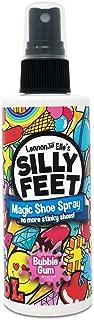 Silly Feet Shoe Deodorizer Foot Spray | Shoe Spray Eliminator Kids Feet and Sweat | Childrens Extra Strength Shoe Odor Eliminator and Deodorant