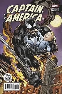 CAPTAIN AMERICA #700H Variant Mark Bagley Venom 30th Anniversary Cover