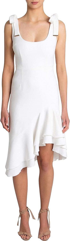 REBECCA New product VALLANCE Low price De Jour Size White Dress 6