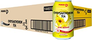 Pokka Chrysanthemum Tea Less Sugar 300 ml (Pack of 24)