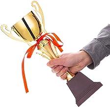 PLEASUR Trofeeën Competitie Kampioen Trofee Evenement Metalen Trofee Voetbal Basketbal Badminton Toernooi Trofee Bedrijf U...