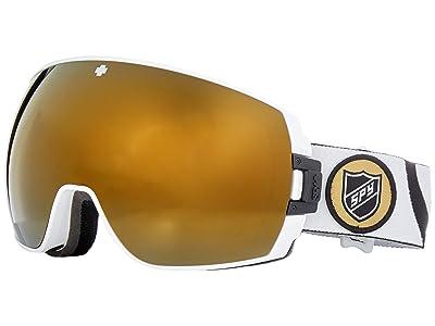 Spy Optic Legacy (Tom Wallisch/Bronze/Gold/Persimmon/Silver Spectra Mirror) Snow Goggles