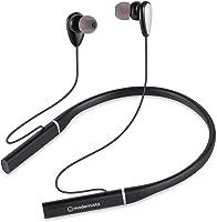 Modernista PowerBass 200 Wireless Bluetooth in Ear Neckband Earphone with Mic (Black)