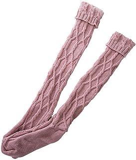 Sobeta, Calcetines cálidos hasta el muslo con bota larga hasta la rodilla de invierno para mujer, calcetines suaves hasta el muslo cálidos para invierno