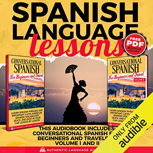 Spanish Language Lessons cover art