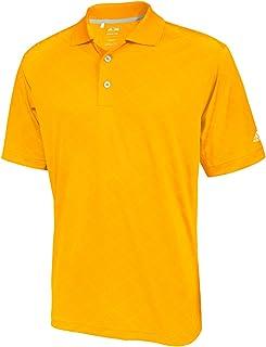 48e0ff8b45 adidas Golf Men's Climacool Diagonal Textured Solid Polo Shirt