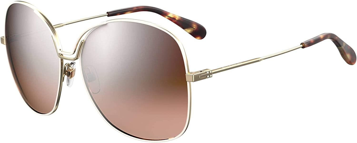Givenchy BOW GV 7144 S GOLD WHITE 15 140 BROWN SHADED women At the price 61 Superior