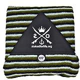 stokedforlife Surfboard Socke 6', grün | weiß | schwarz
