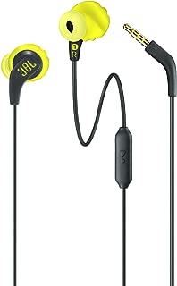 JBL ENDURRUNBNL Endurance Run Sweatproof Sport In-Ear Earphone - Yellow Green (Pack of1)