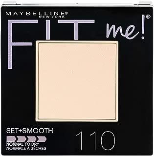 Maybelline New York Fit Me Set + Smooth Powder Makeup, Porcelain, 0.3 oz.